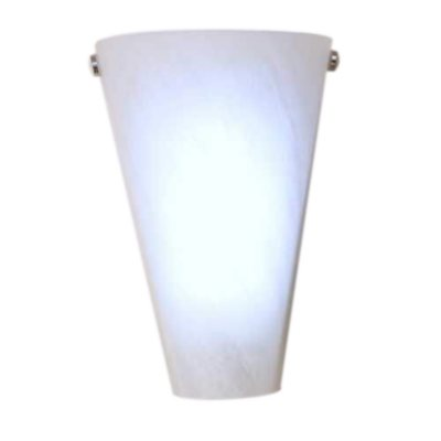 Battery Operated Glass Wall Sconces : Battery-Operated Marbleized Frosted Glass Sconce - Sam s Club
