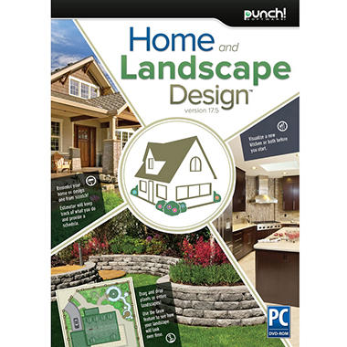 Punch home landscape design 17 5 sam 39 s club for Punch home landscape design 17 5 trial