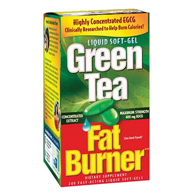 Green tea fat burner applied nutrition