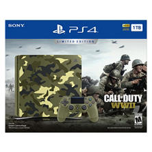 Playstation 4 Limited Edition 1TB Console with Call of Duty: WWII and Controller Bundle