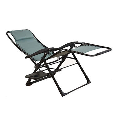 oversized anti gravity suspension lounger blue sam 39 s club