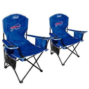 NFL Buffalo Bills Cooler Quad Chair 2 Pack Sam 39 S Club