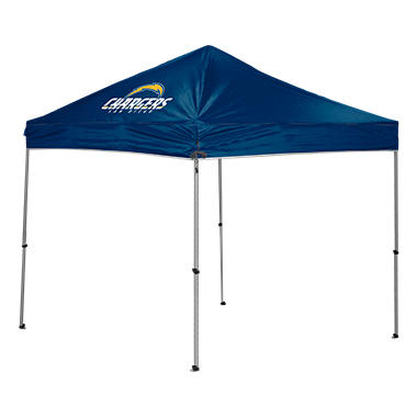 Nfl San Diego Chargers Canopy 9 X 9 With Wall Sam S Club