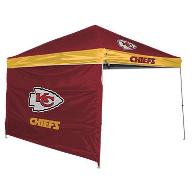 Nfl Kansas City Chiefs Canopy 9 X 9 With Wall Sam S Club