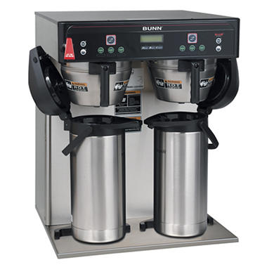 Bunn 174 Icb Twin Infusion Airpot Commercial Coffee Maker