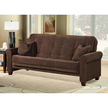 newport sofa sleeper futon sam 39 s club. Black Bedroom Furniture Sets. Home Design Ideas