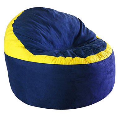 koala foam bean bag chair assorted colors sam s club