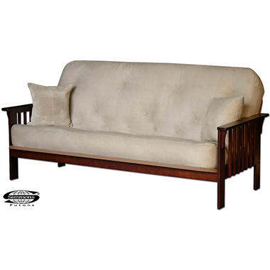 Simmons 174 Neo Futon Sleeper Sofa Sam S Club