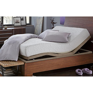 serta icomfort insight adjustable mattress set full xl sam 39 s club. Black Bedroom Furniture Sets. Home Design Ideas