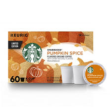 Starbucks Pumpkin Spice K-Cups (60 ct.)