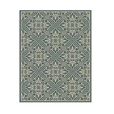Sorrento 8 X 10 Area Rug Aragon Blue Sam S Club