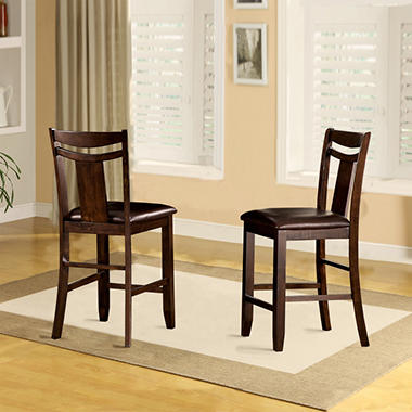 Marcey Counter Height24 Quot Chair 2 Pk Sam S Club