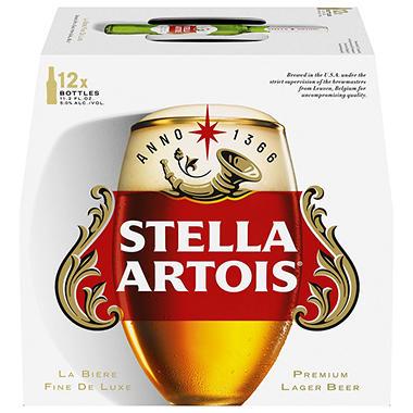 stella artois 11 2 fl oz bottle 12 pk sam 39 s club. Black Bedroom Furniture Sets. Home Design Ideas