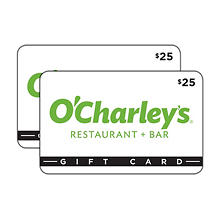 O'Charley's $50 Value Gift Cards - 2 x $25