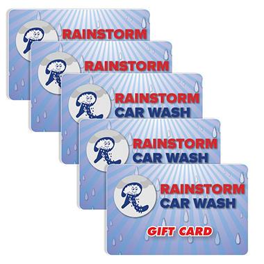 Rainstorm Car Washes