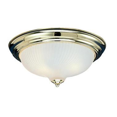hardware house 2 light flush mount ceiling fixture polished brass sam 39 s club. Black Bedroom Furniture Sets. Home Design Ideas