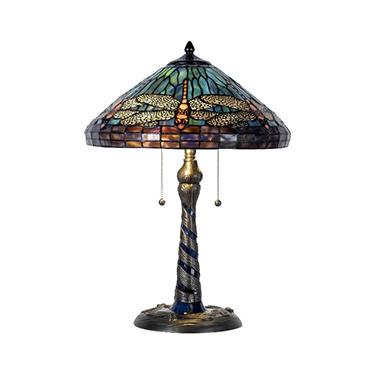 Dragonfly Tiffany Style Table Lamp Sam S Club