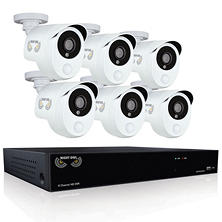 Night Owl 8-Channel 1080p DVR Surveillance System with 1TB Hard Drive, 6-Camera 1080p Indoor/Outdoor Cameras