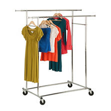Honey-Can-Do Garment Rack (Chrome)