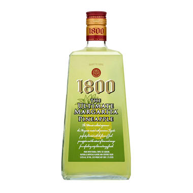 1800 The Ultimate Margarita, Pineapple (1.75 L) - Sam's Club