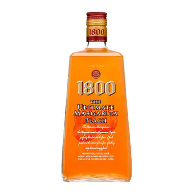 1800 The Ultimate Margarita, Peach (1.75 L) - Sam's Club