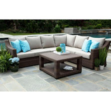 Alder 5-Piece Sectional with Sunbrella Fabric
