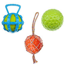 Mugsy's Interactive Fun Dog Toy Ball Set (3 pc.)