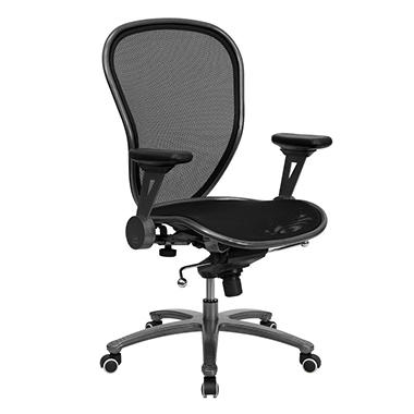Flash Furniture Super All Metal Mesh Office Chair Black