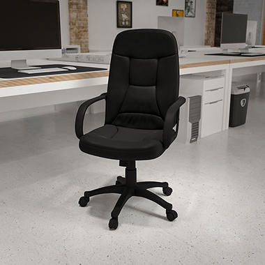 Flash Furniture High Back Executive Office Chair Black