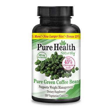 Pure green coffee bean reviews