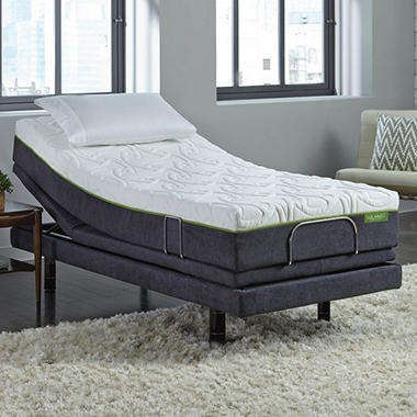 Lulaabed 10 Quot Emerald Plush Twin Xl Mattress And Lb300