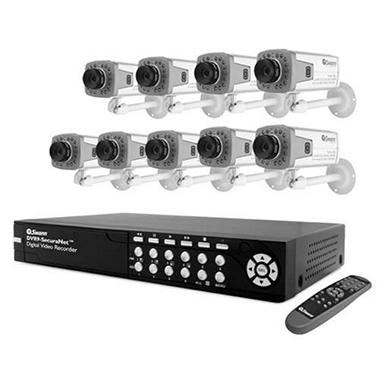 Security cameras are meant to be discreet devices. Some have protective dome lenses and others have night vision technology. Some people prefer a whole surveillance and security system, which is generally comprised of multiple cameras for indoor and outdoor use and a multi-channel DVR base for recording footage.
