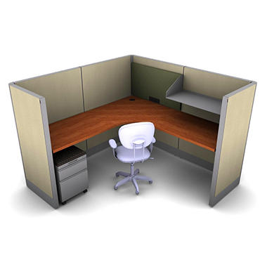 Snap Office 1 Person Task Workstation Urban Jungle Color