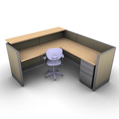 Snap Office Task Oriented Work Reception Station