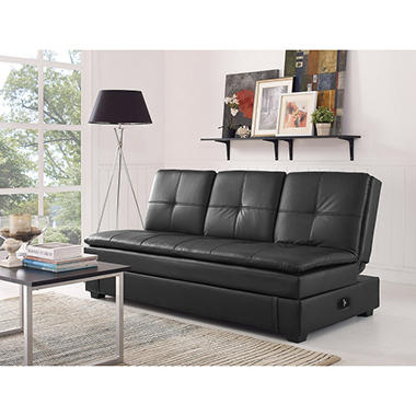 Serta Axis Convertible Storage Sofa With Usb Ports Sam S