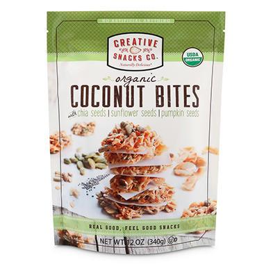Sams Club Auto >> Creative Snacks Organic Coconut Bites (12 oz.) - Sam's Club