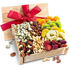Healthy Indulgence Dried Fruit & Nuts Gift Crate