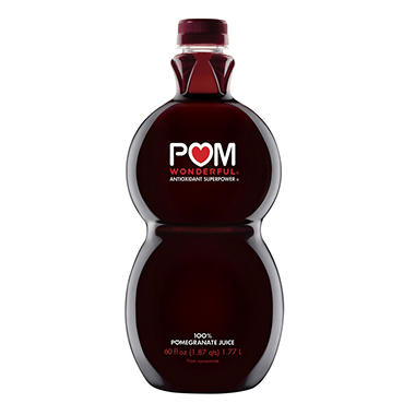POM Wonderful 100% Pomegranate Juice (60 oz.) - Sam's Club