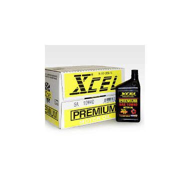 Xcel Premium Sae 10w40 Motor Oil 1 Quart Bottles 12