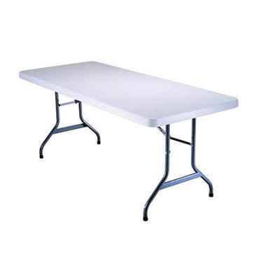 Lifetime 6 Folding Utility Table White Granite Sam S Club