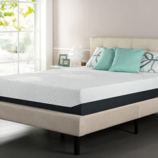 "Night Therapy 13"" Pressure Relief Memory Foam Queen Mattress"