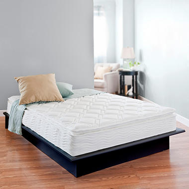 night therapy icoil 10 inch pillow top spring mattress. Black Bedroom Furniture Sets. Home Design Ideas