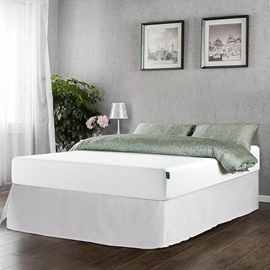 Night Therapy 10 Classic Green Tea Memory Foam Twin Mattress And Smartbase Set Sam 39 S Club