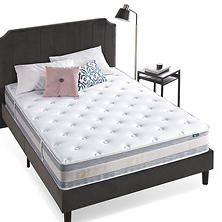 "Night Therapy Spring 10"" Fusion Gel Memory Foam Hybrid Full Mattress"
