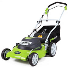 "GreenWorks 12 Amp 20"" Corded Lawn Mower"