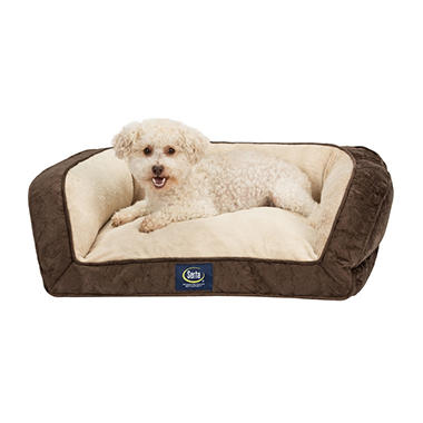 Serta Perfect Sleeper Memory Foam Blend Couch Pet Bed 25