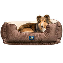 "Serta Perfect Sleeper Orthopedic Cuddler Pet Bed, 34"" x 24"" (Choose Your Color)"