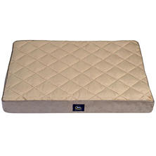 "Serta Orthopedic Quilted Pillowtop 36"" x 27"" Pet Bed (Choose Your Color)"