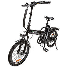 GoCityBike All Terrain Electric Bicycle with 500W Removable 48v 10AH Lithium-Ion Battery