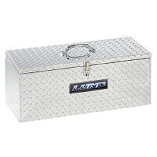 "Lund 30"" Aluminum Handheld Diamond Plated Tool Box - Silver"